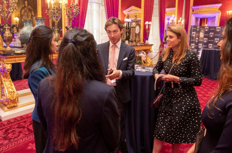 12. Juni 2019  Im Juni 2019 sind Beatrice und Edoardo zu Gast bei einer von Beatrice' Vater Prinz Andrew initiierten Veranstaltung im St James's Palace.