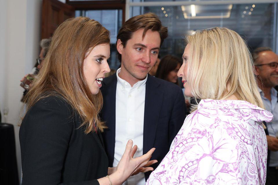22. Mai 2019  Prinzessin Beatrice und Edoardo besuchen gemeinsame ein Charity-Event.
