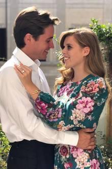 26. September 2019  Nach nur elf Monaten Beziehung überraschen Prinzessin Beatrice und Edoardo Mapelli Mozzi mit wundervollen Nachrichten: Die beiden haben sich im Italien-Urlaub verlobt.