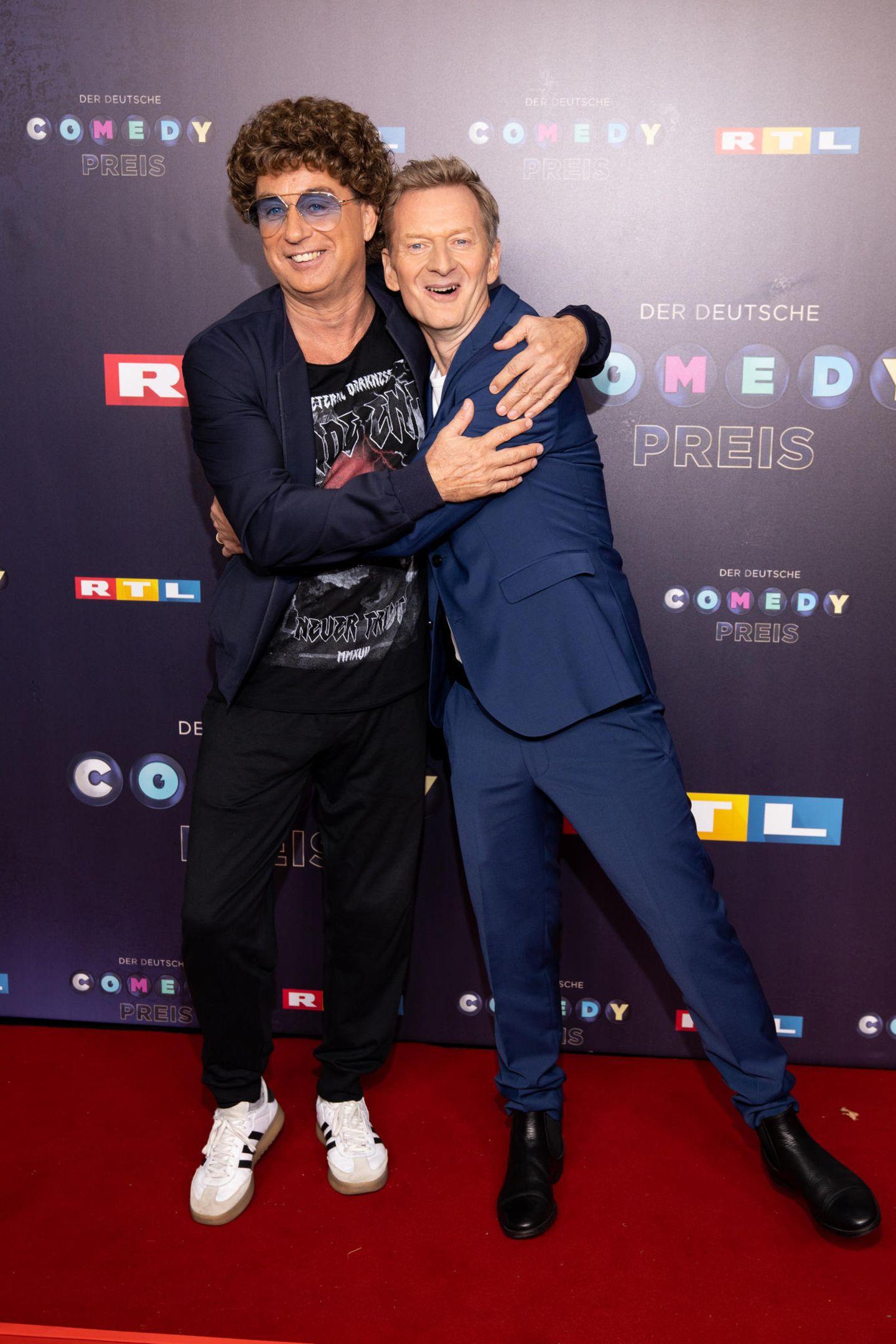 Zwei Spaß-Kollegen, die sich gern haben:Atze Schröder und Michael Kessler