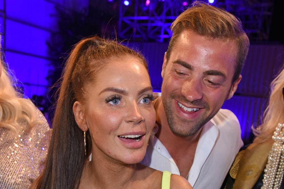 Janine Pink und Tobias Wegener