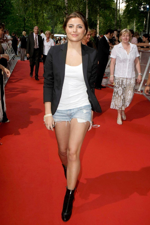 2009  Zur Kino-Premiere in Berlin zeigt sich Sophia in einem natürlichen Look: Rouge, Puder, Lipgloss - fertig.