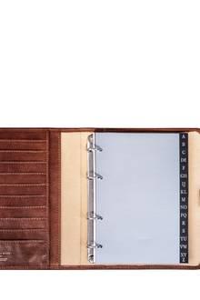 """Gewinnen Sie dashochwertige Lederadressbuch """"Comano"""" vonMaxwell Scott."""
