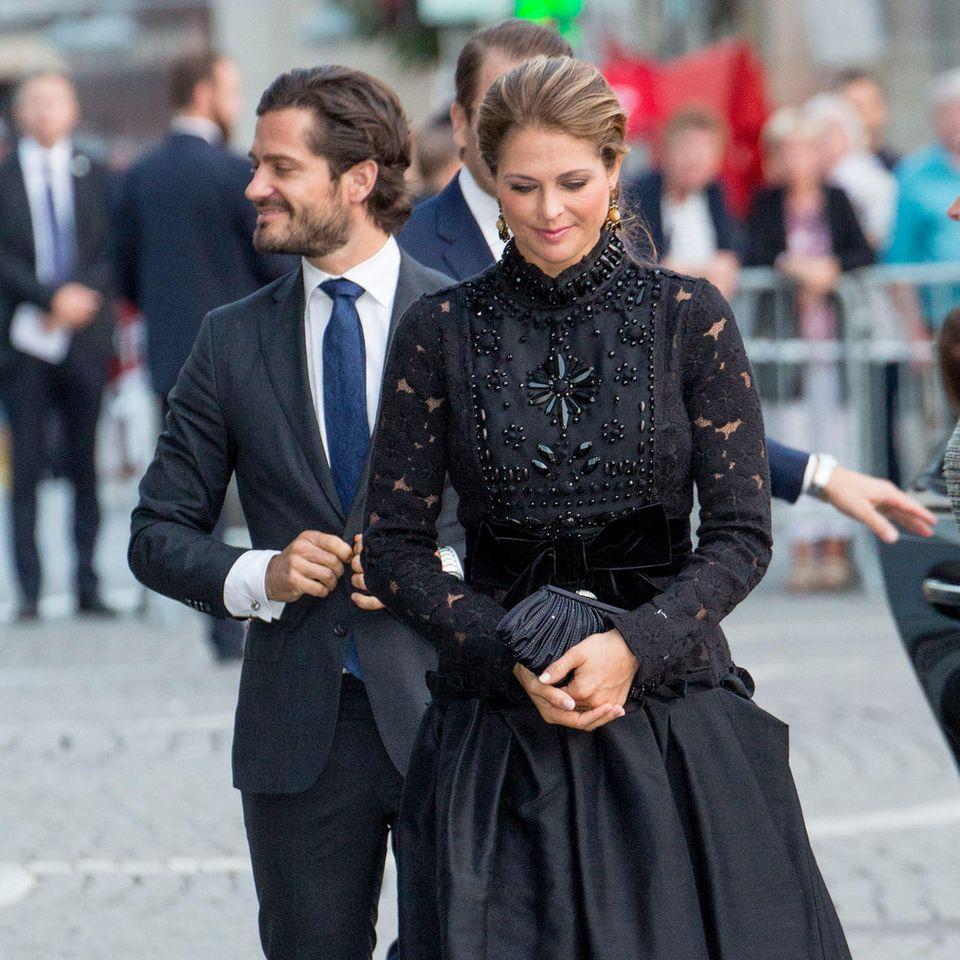 Prinz Carl Philip und Prinzessin Madeleine