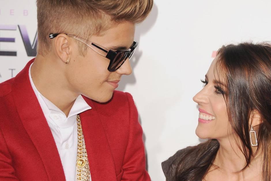 Justin Bieber und Mutter Pattie Mallette
