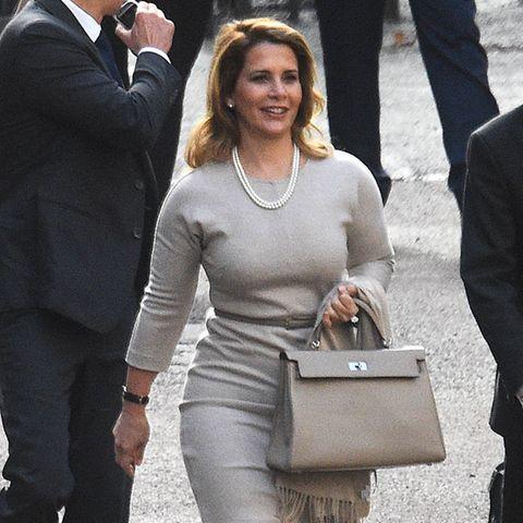 Prinzessin Haya am 8. Oktober 2019 bei ihrer Ankunft am Londoner High Court