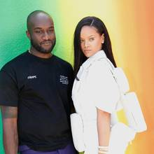 Virgil Abloh, Rihanna