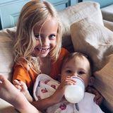 6. Oktober 2019  Die kleine Rani Rose, Tochter von Kate Hudson, wird liebevoll von ihrer Cousine Rio umsorgt.