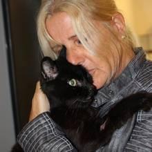 Romeo und seine Besitzerin Christine