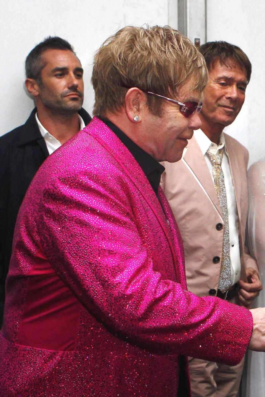 Elton John + Queen Elizabeth