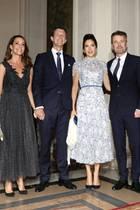 8. Oktober 2019  Im Pariser Rathaus hat der dänische Botschafter am Abend zum Dinner eingeladen.Ehrengäste sind Kronprinzessin Mary und Kronprinz Frederik, die dort auf Prinz Joachim und Prinzessin Marie treffen - vermutlich das erste Wiedersehen der Paare, seitdem Marie und Joachim nach Paris gezogen sind.