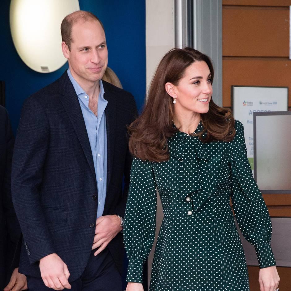 Geheimes Treffen im Kensington Palast mit ...