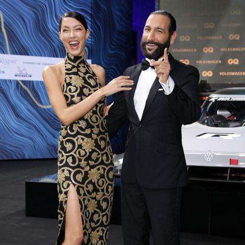 Rebecca Mir und Massimo Sinato