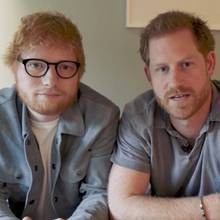 Ed Sheeran und Prinz Harry