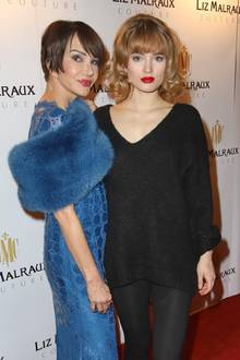 Anouschka Renzi + ihre Tochter Chiara Moon Horst