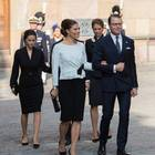 Prinzessin Sofia, Prinzessin Victoria, Prinzessin Madeleine und Prinz Daniel