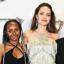 Zahara Jolie Pitt, Angelina Jolie