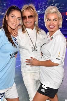 Ginger Costello-Wollersheim mit Bert Wollersheim und Janine Pink