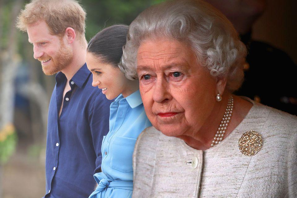 Prinz Harry, Herzogin Meghan, die Queen