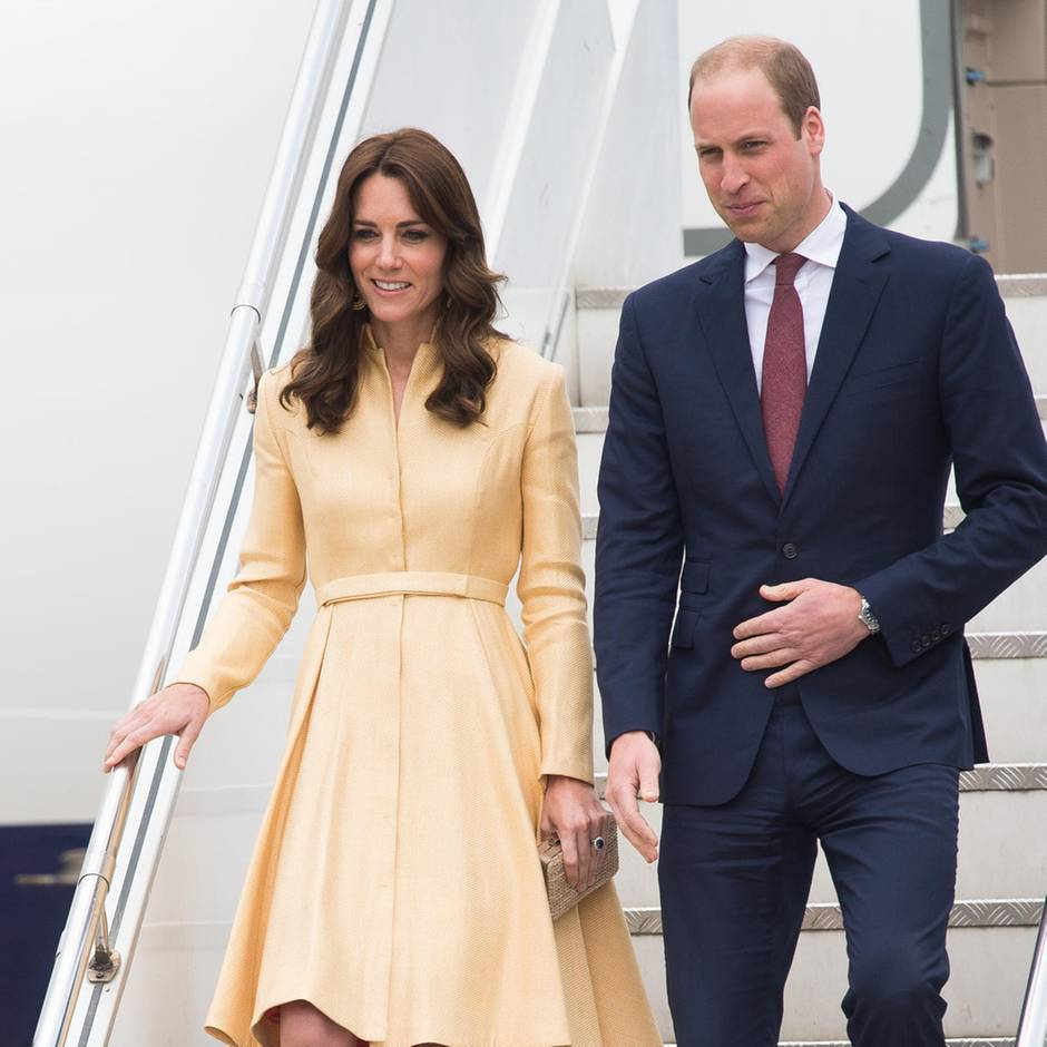 Alle News zu Tag 1 der Royal-Tour