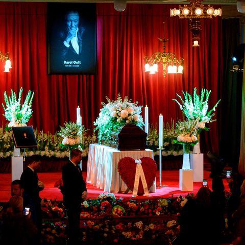 Trauerfeier für Karel Gott
