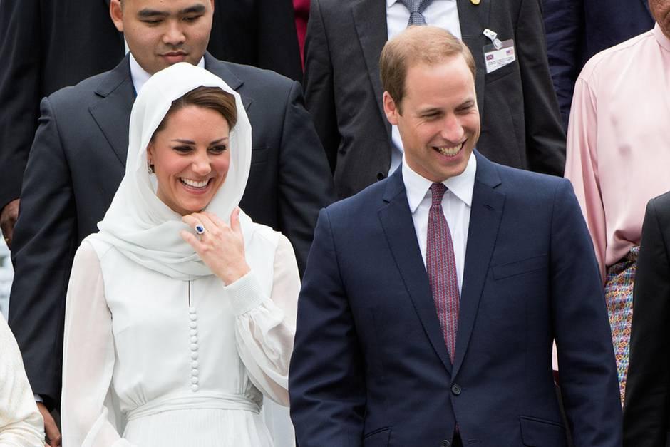 Kate und William in Pakistan in Gefahr? Flieger musste umdrehen
