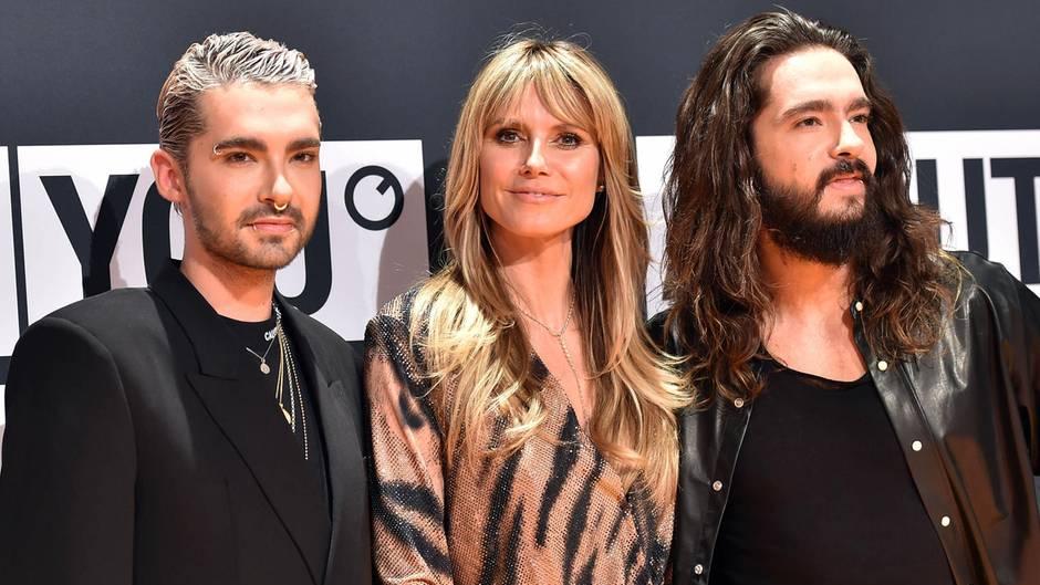 Bill Kaulitz, Heidi Klum, Tom Kaulitz