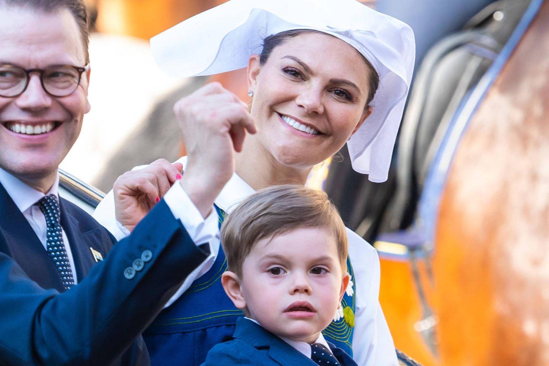 Prinz Daniel, Kronprinzessin Victoria, Prinz Oscar