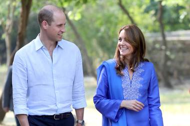 Prinz William und Herzogin Catherine in Pakistan