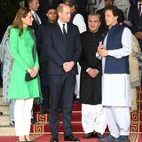 Herzogin Catherine, Prinz William + Imran Khan