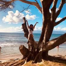 """14. Oktober 2019  Britney Spears sendet Urlaubsgrüße aus Hawaii und schwärmt in ihrem Instagram-Post vor dieser Traumkulisse von """"Mutter Natur""""."""