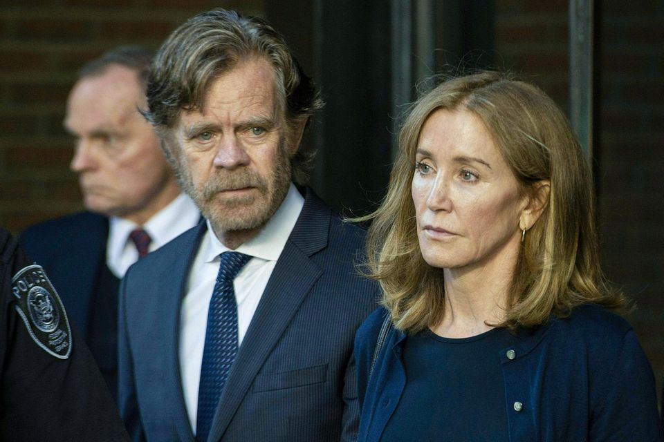 William H. Macy und Felicity Huffman