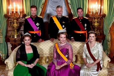 15. Oktober 2019  König Philippe und Königin Mathilde von Belgien sind zu Gast in Luxemburg. Am ersten Abend ihres Besuchs findet ein festliches Staatsbankett mitGroßherzog Henri und Großherzogin Maria Teresa sowie Erbgroßherzog Guillaume und Erbgroßherzogin Stéphanie von Luxemburg statt.