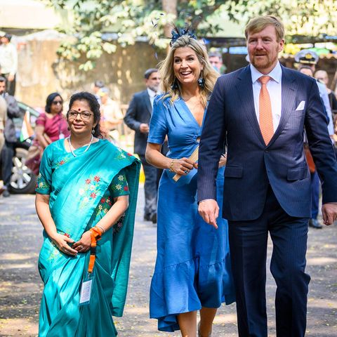 Königin Máxima und König Willem-Alexander besuchen die Organisation Tiny Miracles.