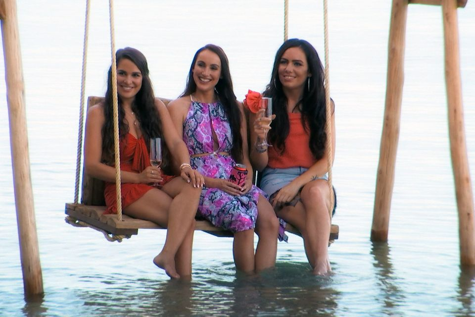 V.l.: Meike, Isabell und Sarah