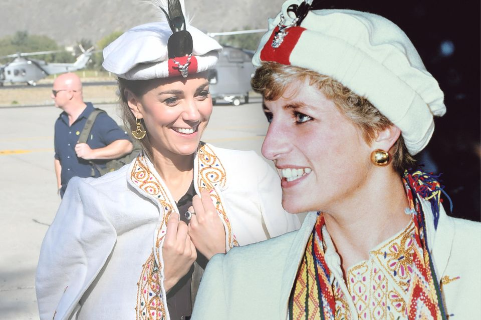 Herzogin Catherine + Prinzessin Diana