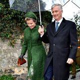 Königin Mathilde und König Philippe sind für einen dreitägigen Besuch nach Luxemburg gereist.