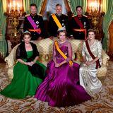 Am Abend wird das belgische Königspaar bei einem feierlichen Staatsbankett von Großherzog Henri, GroßherzoginMaria Teresa sowie Erbgroßherzog Guillaume und Erbgroßherzogin Stéphanie von Luxemburg empfangen.