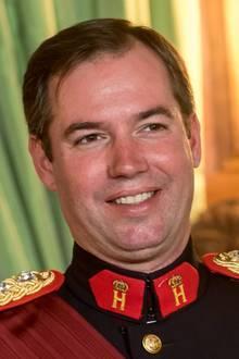 Auch Stéphanies Ehemann Erbgroßherzog Guillaume von Luxemburg nimmt an dem Empfang teil.