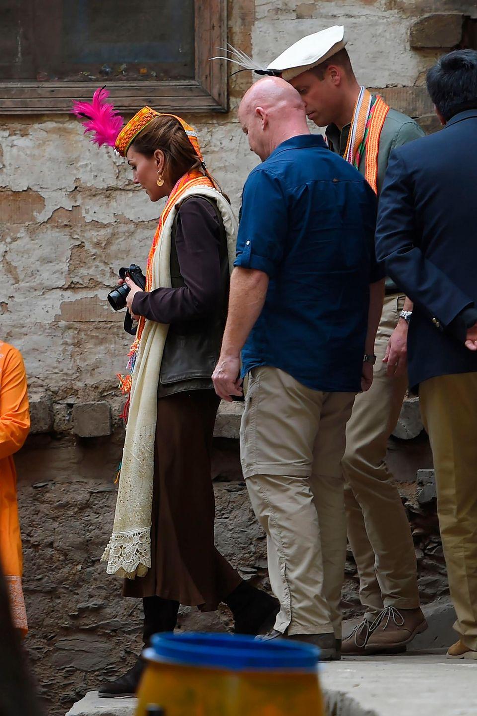 Herzogin Catherine hat in Pakistan ihren eigenen Fotoapparat dabei