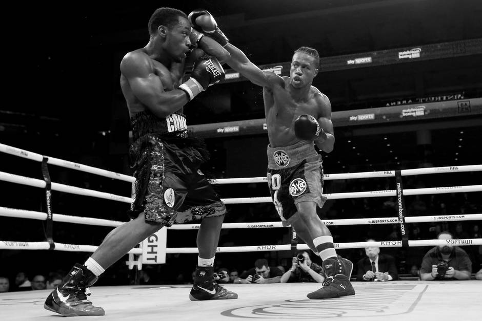 Charles Conwell im Boxkampf gegen Patrick Day (†)