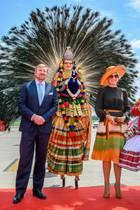 König Willem-Alexander und Königin Máxima am Flughafen von Kochi