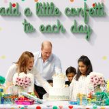 17. Oktober | Tag 4  Happy Birthday! Drei Kinder aus dem Waisenhaus - Iman, 12, Daniyal, 8, undIbrahim, 6 - feiern heute Geburtstag. Da dürfen Geschenke und eine Torte nicht fehlen. William und Kate gratulieren den Kleinen herzlich.
