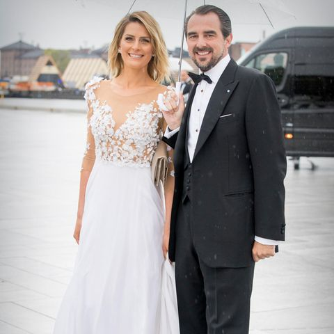 Prinzessin Tatiana +Prinz Nikolaos von Griechenland