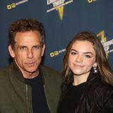 """Zur Premiere des Musicals""""The Lightning Thief"""" brachte Ben Stiller seine hübsche Tochter Ella Olivia mit."""