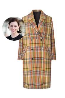 Gar nicht kleinkariertfindet Redakteurin Kathrin diesen farbenfrohen Mantel von Samsoe & Samsoe.
