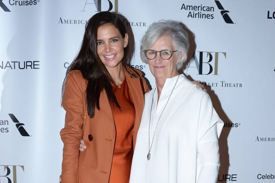 Katie Holmes + Kathleen Stothers-Holmes
