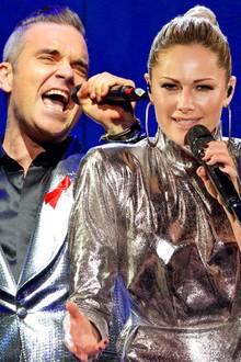 Robbie Williams: Er singt ein Duett mit Helene Fischer