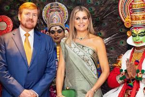 Königin Máxima + König Willem-Alexander: Die schönsten Bilder aus Indien