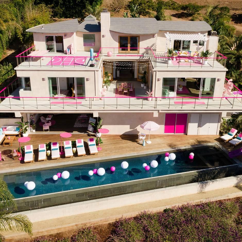 In Malibu kann man jetzt wie Barbie übernachten